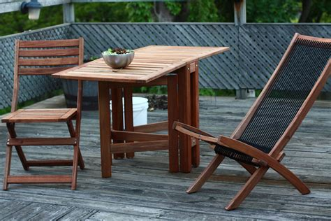 Cool Patio Tables Amazing Of Cool Teak Wood Ikea Patio Furniture Canada At 4226