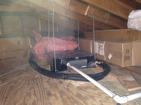 Attic Mounted Air Conditioning System - attic mounted central air conditioners attic ideas