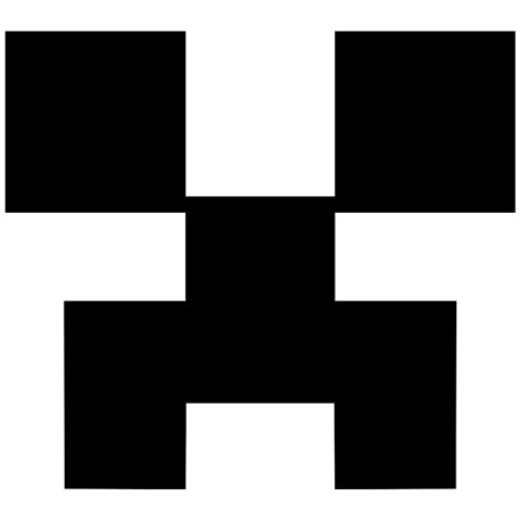 minecraft sign face creeper svg png icon