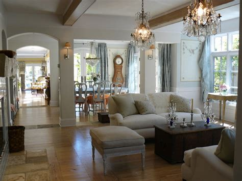 open floor plan shabby chic living room san francisco by howard bankston post