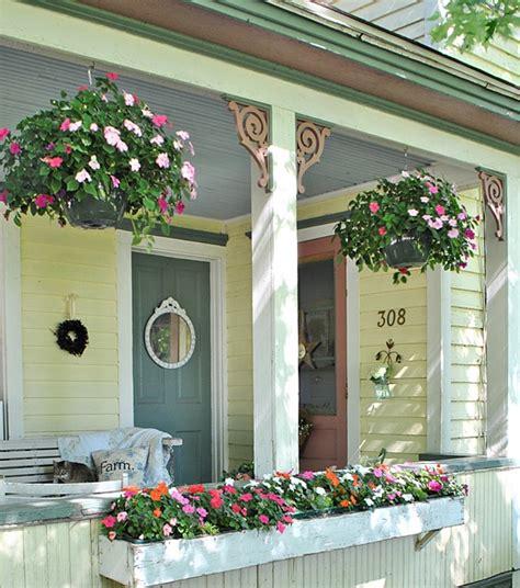 Decorating Ideas Porch Summer Farmhouse Porch Decorating Ideas Town Country