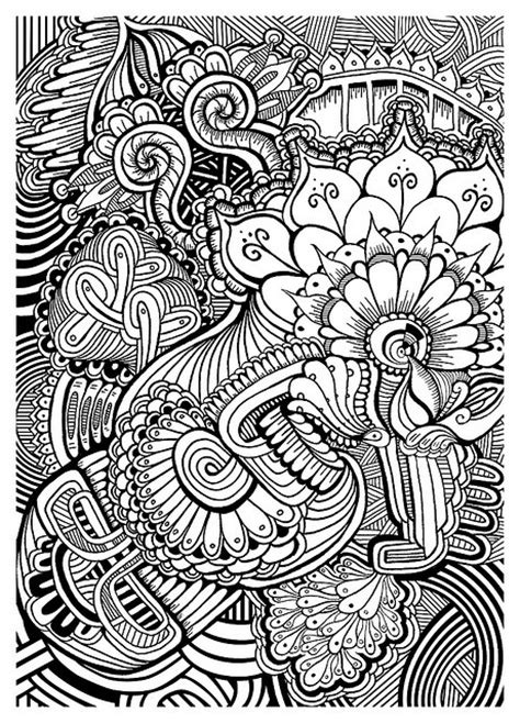Doodle Patterns For Colouring | 52 best images about adult coloring pages on pinterest