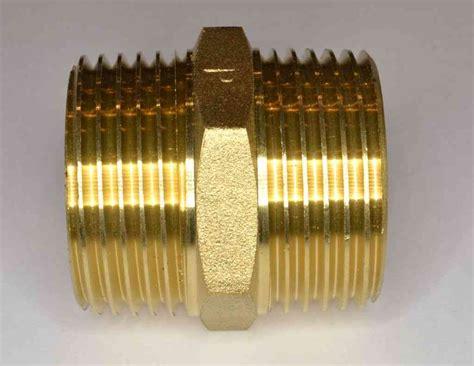 bsp brass hex nipple stevenson plumbing
