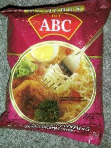 Mie Abc Ayam Bawang asian instant noodle soups abc president