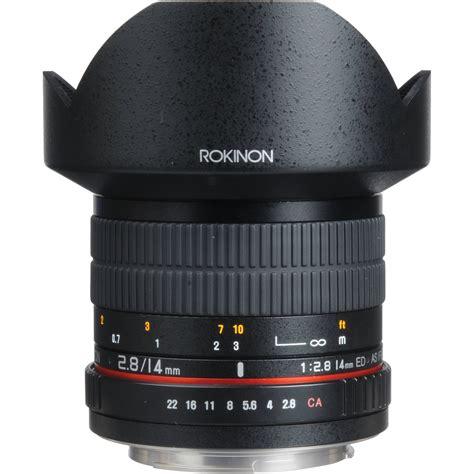 Samyang 14mm F 2 8 Lens For Canon rokinon 14mm f 2 8 if ed umc lens for canon ef fe14m c b h