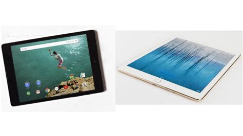 Tablet Comparison Nexus 9 nexus 9 vs air 2 tablet comparison pc advisor