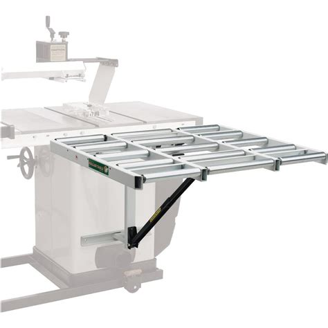 htc hor 1038 table saw outfeed roller table