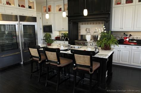 black kitchen cabinets design ideas black and white kitchen designs in new jersey 187