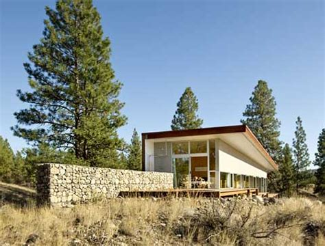 Cabin Home On The Hill by Modern Cabin Hill House Modern Cabins Small Houses