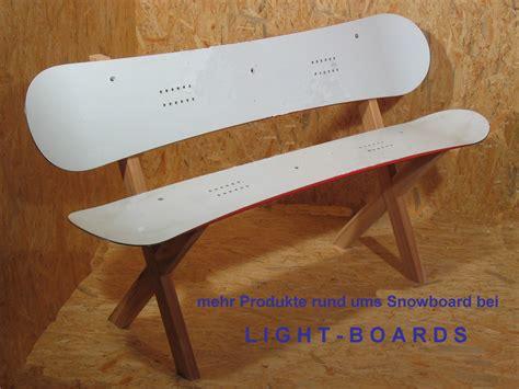snowboard bank geschenke f 252 r snowboarder snowboard sitzbank rome sds