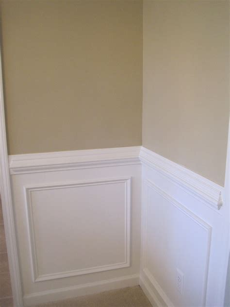 Painting With A Chair Rail by Designed To Dwell More Molding