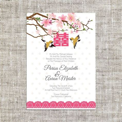 best 25 chinese wedding invitation ideas on pinterest
