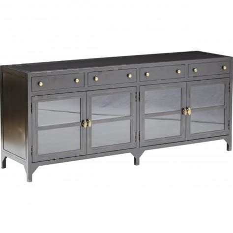 industrial media console shadow box media console four i high fashion home