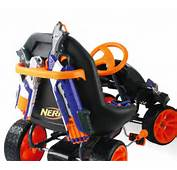 This Nerf Battle Racer Go Kart Is Loaded With Awesome Firepower