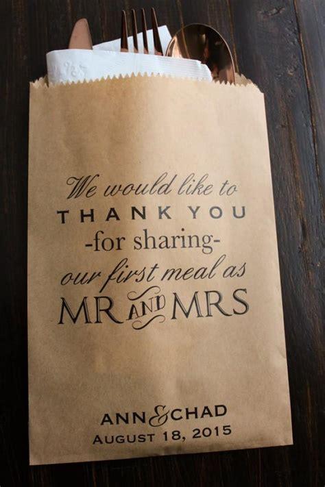 wedding favor bags for buffet wedding favor bags buffet bags wedding bags personalized 2205003 weddbook