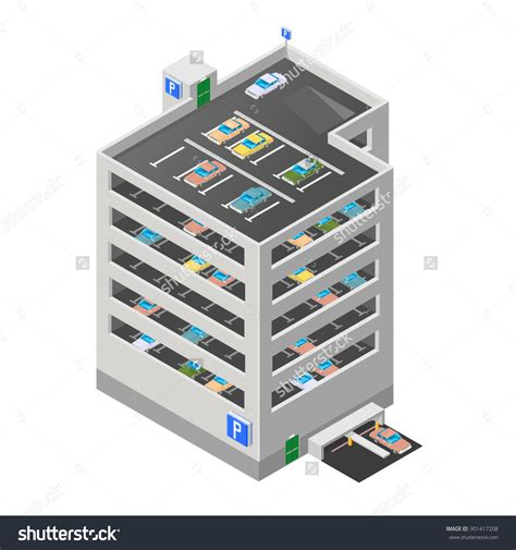 Parking Garage Ramp Design multi storey car park clipart clipground