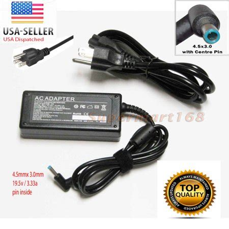 19 5v 3 33a Laptop Ac Adaptor Intl 65w 19 5v 3 33a ac adapter charger for hp pavilion 15 17