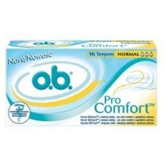 ob pro comfort normal tony ob pro comfort normal 16 szt domzdrowia pl