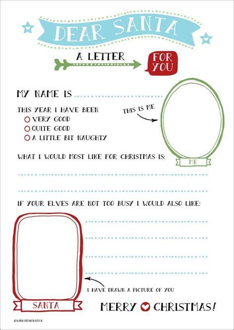 free printable christmas lists free printable letter to santa