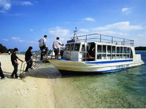 glass bottom boat japan kabira bay glass bottom boat ride from ishigaki island