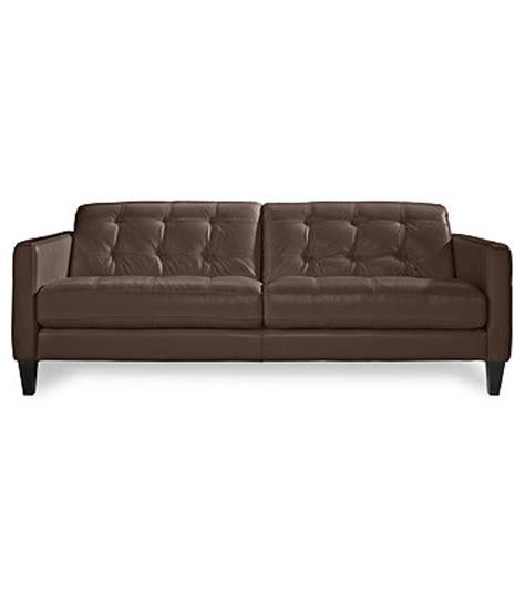 Macys Leather Sofa Milan Leather Sofa Furniture Macy S