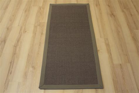 teppiche joop sisal carpet manaus with border grey 60x90 cm 100 sisal