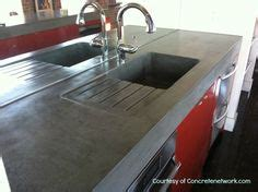 one day i will concrete countertops with a built in