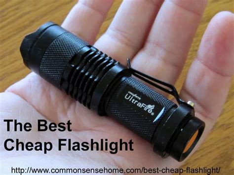best cheap led flashlight the best cheap flashlight