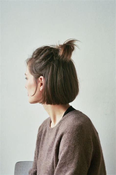 bob short pony tail hair cu 1000 images about short hair hair trends on pinterest