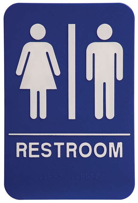 bathroom signs images unisex john