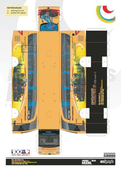 Papercraft Bis - paperbus jetbus cipaganti paperbusmodel