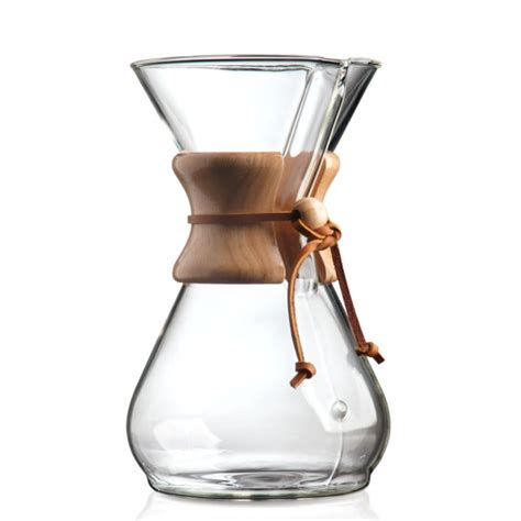 Chemex 8 Cup Classic Series Coffee Maker   KobosCoffee.com Kobos Coffee