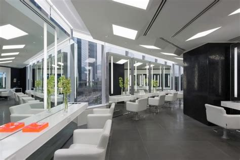 lighting layout for salon how to decorate a hair salon in excellent way nytexas