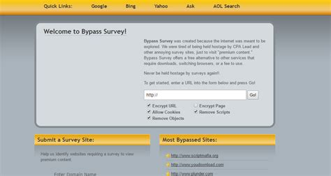 Top Online Surveys - 7 best survey bypass remover tool software extension 2017