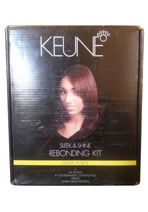 keune products for rebonding buy keune sleek shine rebonding kit for rs 2399