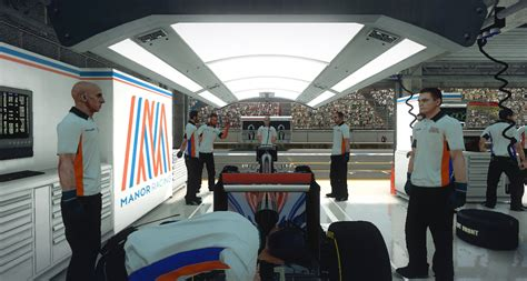 Manor Garage by Complete F1 Manor Racing Hd Team Package With Esteban Ocon