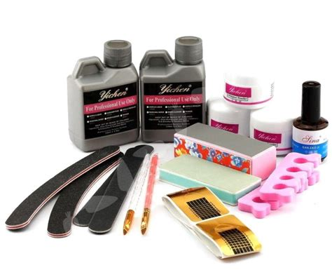 acrylic nail supplies acrylic nail kit ebay