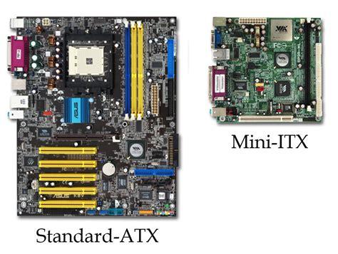 mini atx mini itx motherboards a closer look
