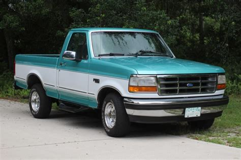 1995 Ford F150 For Sale by One Family Owned 1995 Ford F 150 Xlt For Sale On Bat