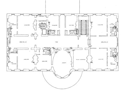 floor plan of white house awesome big house plans 7 big house floor plans