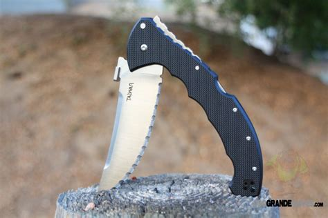 cold steel talwar xl review cold steel talwar xl folding knife 5 5 inch serrated g