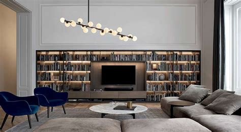 poliform librerie libreria wall system poliform pramotton mobili