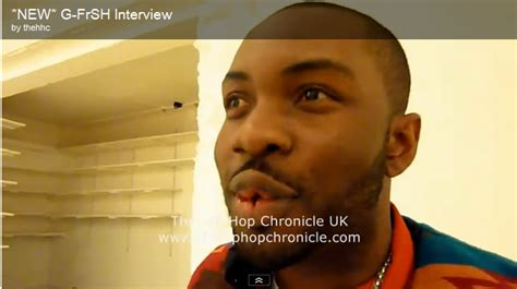 g frsh the grime report g frsh interview the hip hop chronicle