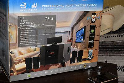 bnw acoustic gs  professional home theater system