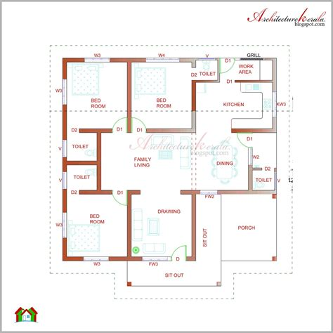 Contemporary Kerala Style House Plans by Kerala House Plan Photos And Its Elevations Contemporary