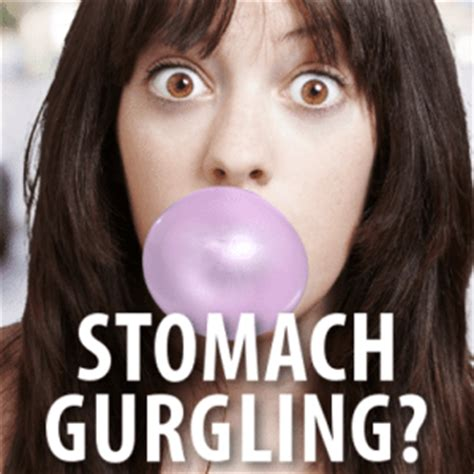 stomach gurgling dr oz stomach gurgling symptoms caused by chewing gum straws
