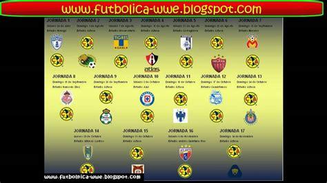 Calendario De Juegos Calendario De Juegos Club America Apertura 2010