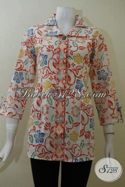 Baju Kerja Wanita Grosir Grosir Eceran Aneka Pakaian Batik Wanita Terbaru Blus