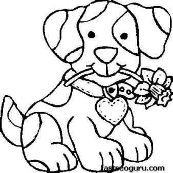 free print out dog coloring pages for kids colouring