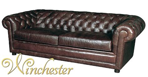 Chamberlain Sofa by Chamberlain Leather Chesterfield 3 Seater Settee